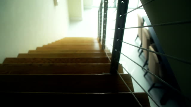 Staircase leading down