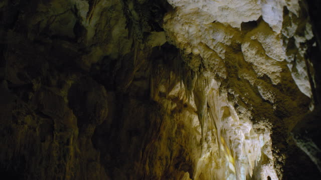 stalactites new zealand cave - new zealand stock videos & royalty-free footage