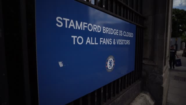 stamford bridge is a football stadium in fulham, adjacent to the borough of chelsea in south west london, commonly referred to as the bridge. it is... - epidemic stock videos & royalty-free footage