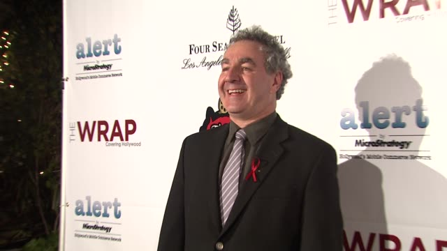 stan chervin at thewrap.com pre-oscar party on 2/22/2012 in beverly hills, ca. - oscar party stock videos & royalty-free footage