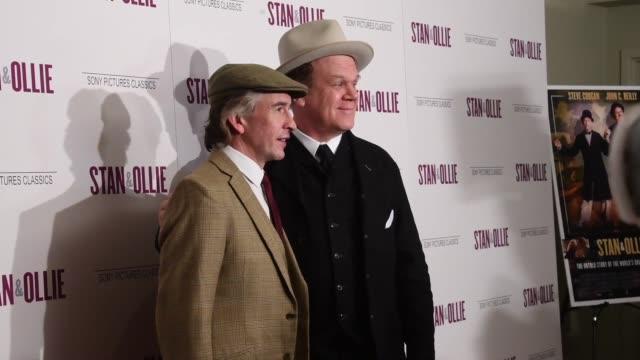 'Stan Ollie' New York Screening at Elinor Bunin Munroe Film Center on December 10 2018 in New York City