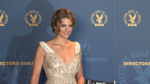 Stana Katic at 64th Annual DGA Awards Press Room on 1/28/12 in Los Angeles CA