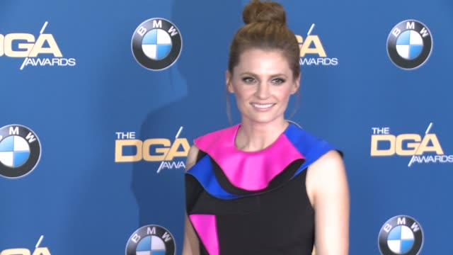 stana katic at 68th annual directors guild of america awards in los angeles ca - stana katic stock videos and b-roll footage