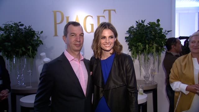 stana katic at piaget at the 2014 film independent spirit awards on february 01 2014 in santa monica california - stana katic stock videos and b-roll footage