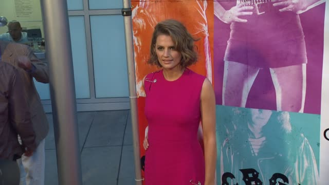 stana katic at the 'cbgb' los angeles special screening on 10/01/13 los angeles ca - stana katic stock videos and b-roll footage
