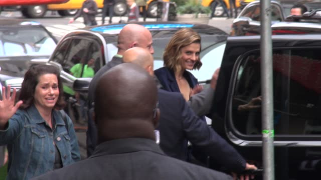 stana katic at the 'good morning america' studio stana katic at the 'good morning america' studio on october 07 2013 in new york new york - stana katic stock videos and b-roll footage