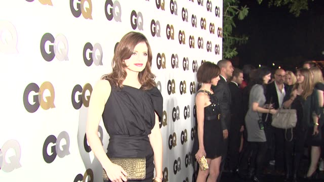 stana katic at the gq's 'men of the year' party at los angeles ca - stana katic stock videos and b-roll footage