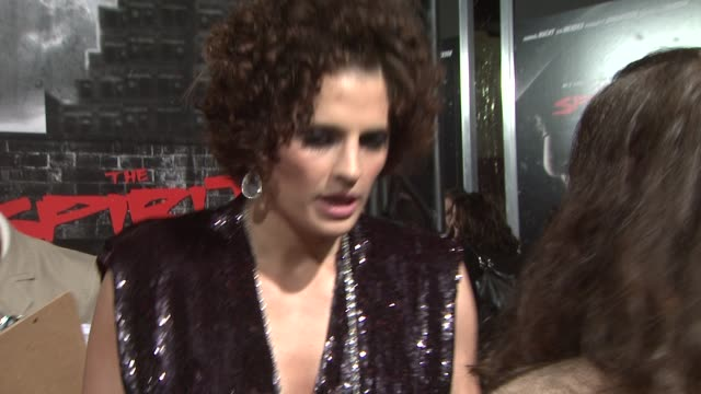 stana katic at the 'the spirit' premiere at los angeles ca - stana katic stock videos and b-roll footage
