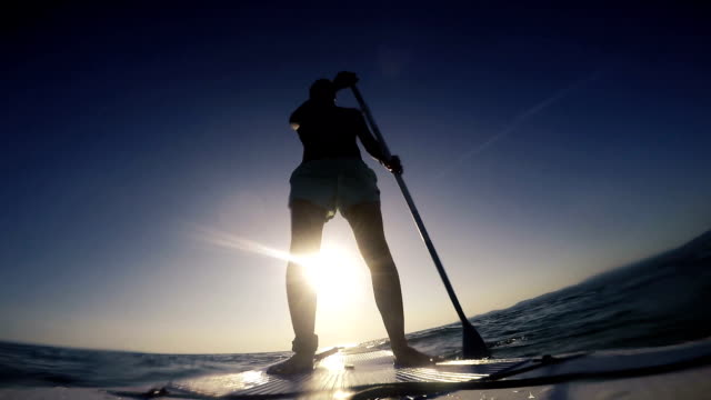 Stand up Paddle on the open sea