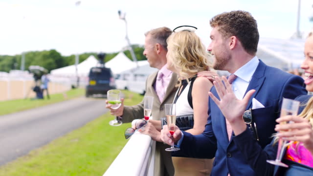 standing at barrier on race day - horse racing stock videos & royalty-free footage