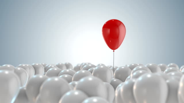 standing out from the crowd - leadership stock videos & royalty-free footage