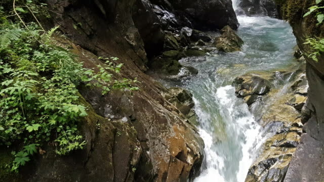 stanghe waterfall - devil's throat stock videos and b-roll footage