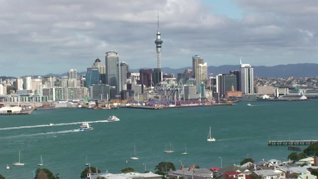 stanley bay - auckland, new zealand - auckland ferry stock videos & royalty-free footage