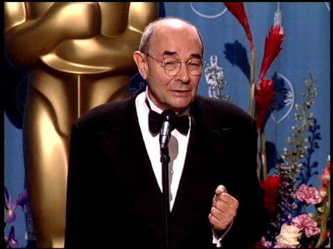 stanley donen at the 1998 academy awards at the shrine auditorium in los angeles, california on march 23, 1998. - shrine auditorium stock videos & royalty-free footage