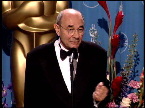 stanley donen at the 1998 academy awards at the shrine auditorium in los angeles california on march 23 1998 - 70th annual academy awards stock videos & royalty-free footage