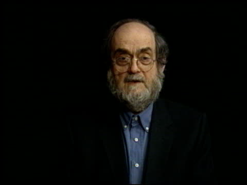 stanley kubrick at the directors guild awards show at the century plaza hotel in century city, california on march 8, 1997. - センチュリープラザ点の映像素材/bロール