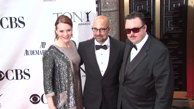 Stanley Tucci and guests at the 64th Annual Tony Awards at New York NY