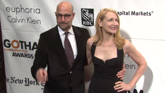 Stanley Tucci and Patricia Clarkson at the IFP's 20th Annual Gotham Independent Film Awards at New York NY