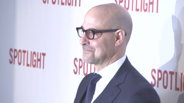 Stanley Tucci at Spotlight UK film premiere on January 20 2016 in London England