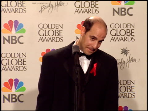 Stanley Tucci at the 1999 Golden Globe Awards at the Beverly Hilton in Beverly Hills California on January 24 1999