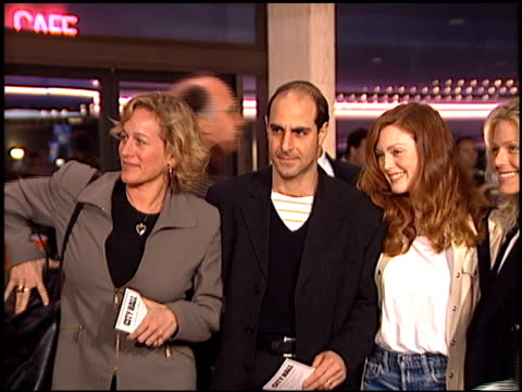 Stanley Tucci at the 'City Hall' Premiere on February 13 1996