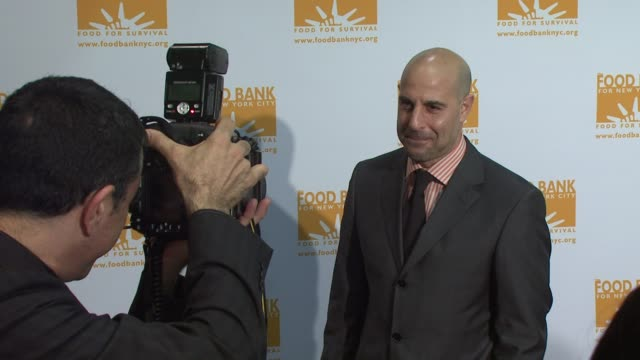 Stanley Tucci at the Food Bank For New York City's 25th Anniversary and 5th Annual CanDo Awards Dinner at Abigail Kirsch's Pier Sixty at Chelsea...