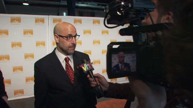 Stanley Tucci at the Food Bank for New York City's 8th Annual CanDo Awards Dinner at New York NY