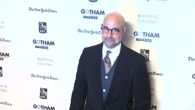 Stanley Tucci at the IFP's 21st Annual Gotham Independent Film Awards Red Carpet at New York NY