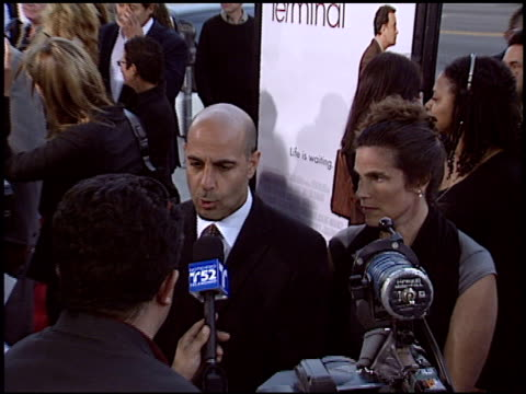 Stanley Tucci at the Premiere of 'The Terminal' on June 9 2004