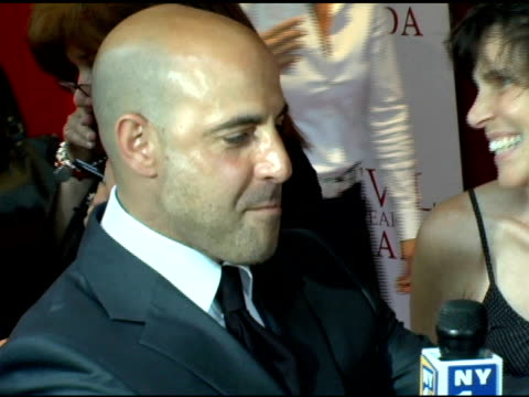 Stanley Tucci at the 'The Devil Wears Prada' New York Premiere at AMC Loews Lincoln Square in New York New York on June 19 2006