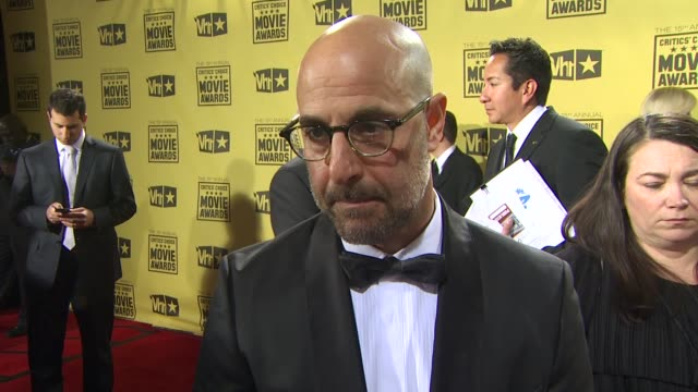 Stanley Tucci on how it feels to be nominated how he's handling award season so far what films he was a fan of this year at the 15th Annual Critics'...