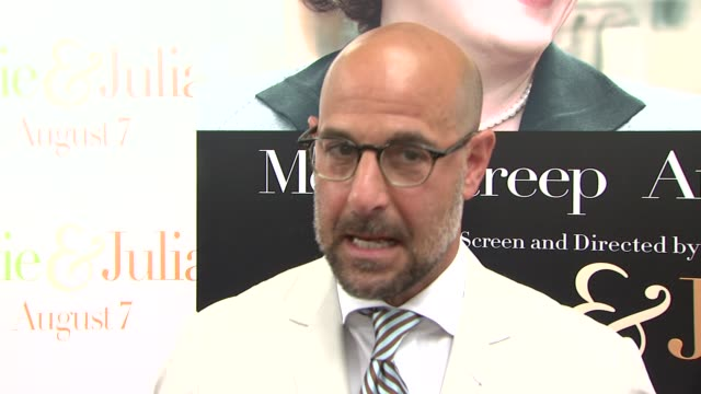 Stanley Tucci on Julia Child at the 'Julie Julia' Premiere at New York NY