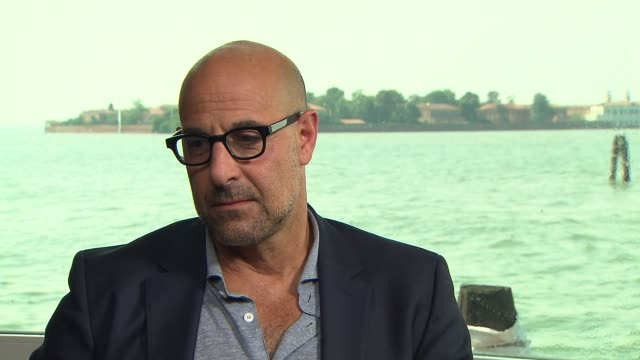 INTERVIEW Stanley Tucci on Pope Francis at 'Spotlight' Interviews on September 02 2015 in Venice Italy