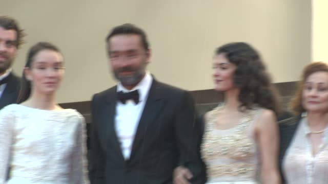 Stanley Weber Anais Demoustier Gilles Lellouche Audrey Tautou and Catherine Arditi at Closing Ceremony Therese Desqueyroux Premiere 65th Cannes Film...