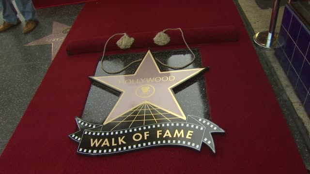 star at rascal flatts honored with star on the hollywood walk of fame on 9/17/12 in hollywood ca - rascal flatts stock videos & royalty-free footage