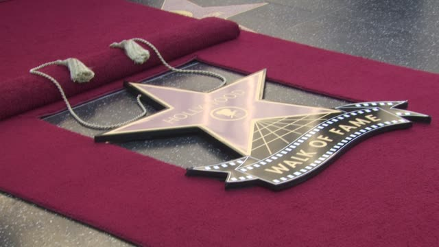 star at the shakira honored with star on the hollywood walk of fame at hollywood ca - shakira stock videos and b-roll footage