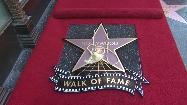 star at the sissy spacek to be honored with star on the hollywood walk of fame at hollywood ca. - sissy spacek stock videos & royalty-free footage