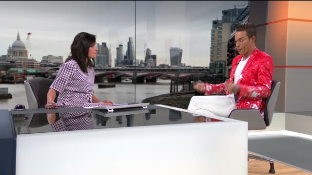 TOWIE star Bobby Norris interview on his campaign to make online homophobic abuse a crime ENGLAND London GIR INT Bobby Norris STUDIO interview SOT