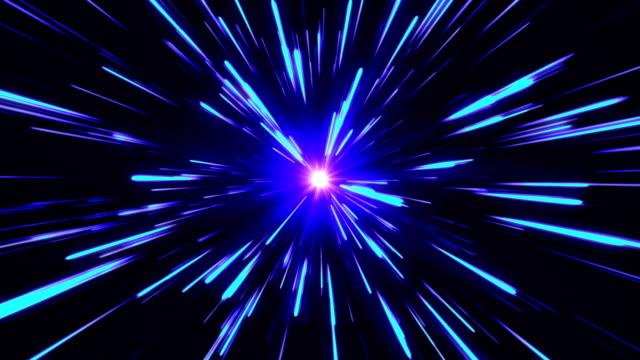 star burst or star trails explosion or hyperspace or warp drive - eternity stock videos & royalty-free footage