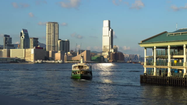 stockvideo's en b-roll-footage met star ferry in hong kong - star ferry