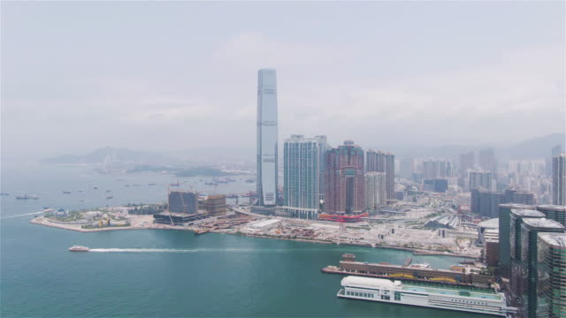stockvideo's en b-roll-footage met star ferry pier in tsim sha tsui - star ferry