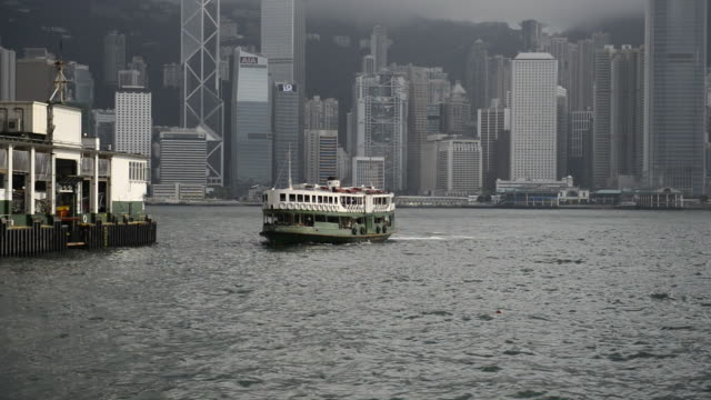 ms star ferry, victoria harbor / hong kong, china - star ferry stock videos & royalty-free footage