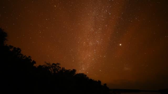 star filled night sky, time lapse - rymd och astronomi bildbanksvideor och videomaterial från bakom kulisserna