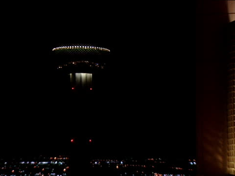 Top of the Tower of the Americas in Hemisfair Park ZO LS Tower w/ unidentified building Landmark Heart of Texas Chart House Restaurant Observation...