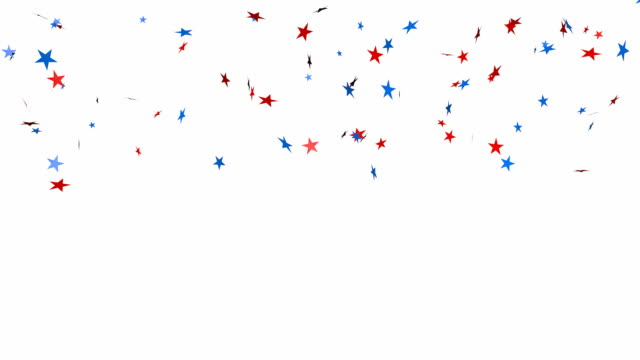 Star glitter confetti background