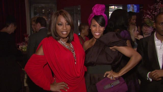 star jones and guest at the star jones attends 'celebrity apprentice' premiere for american heart association at new york ny. - star jones stock videos & royalty-free footage