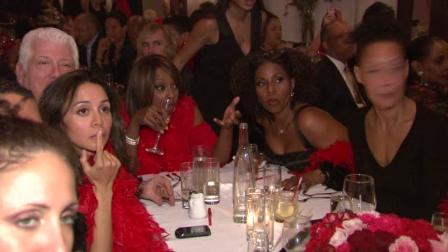 star jones and guests at the star jones attends 'celebrity apprentice' premiere for american heart association at new york ny. - star jones stock videos & royalty-free footage