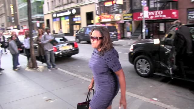 Star Jones arrives at the 'Today Show' in New York 10/25/11