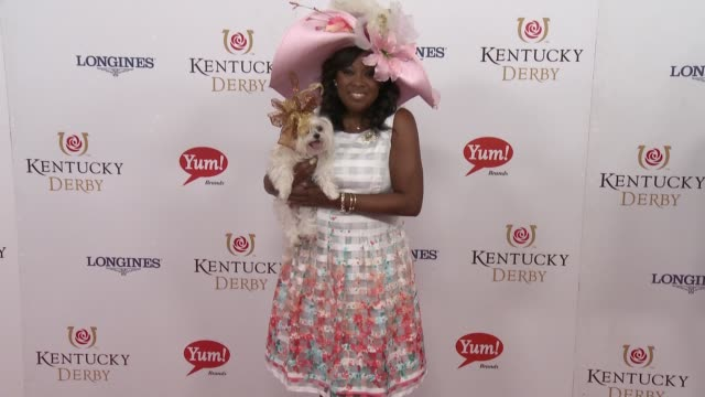 Star Jones at 142nd Kentucky Derby at Churchill Downs on May 07 2016 in Louisville Kentucky