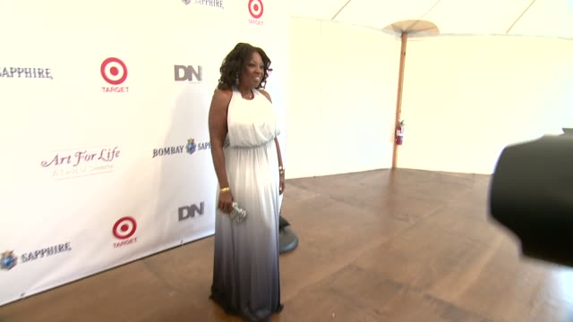 Star Jones at 15th Annual Art For Life Gala at Fairview Farms on July 26 2014 in Bridgehampton New York